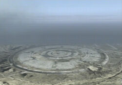 Stonehenge as seen in Ace Combat 04