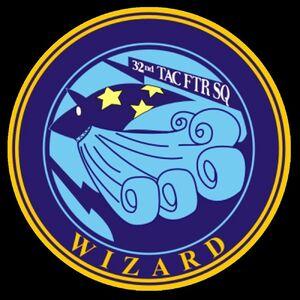 Emblema - Escuadrón Wizard
