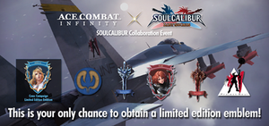Ace Combat Infinity x Soul Calibur Lost Swords