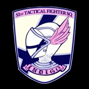 Emblema - Escuadrón Indigo