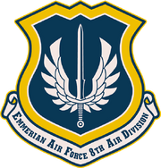 8th Air Division Emblem