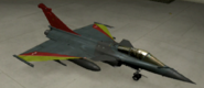 Rafale M Special color hangar