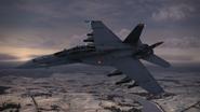 F-A-18F -SCARFACE EMBLEM- Flyby