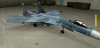 Su-27 Standard color hangar