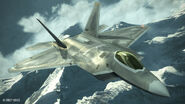 Emmerian F-22A Raptor Flyby