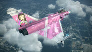Rafale M -THE IDOLMASTER IORI- Flyby 3