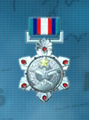 AC3D Medal 02 Silver Star of Victory
