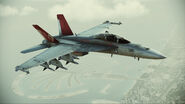 "FA-18F ""Red Devils"" Flyby 4"