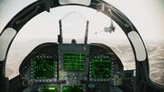 FA-18F cockpit