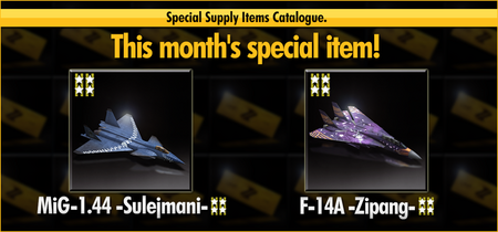 Special Supply MiG-1.44 -Sulejmani- F-14A -Zipang- Banner