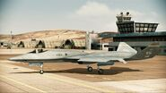 YF-23 Assault Horizon Color 1 Parked