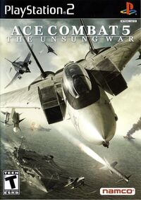 Ace Combat 5 Box Art US Canada
