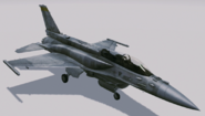 F-16F Fighting Falcon Hangar