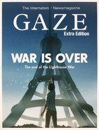 GAZE WAR IS OVER