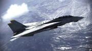 F-14B Tomcat over Stonehenge