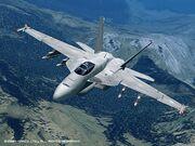 FA-18E osea