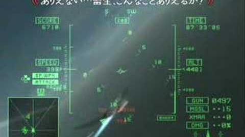 Ace Combat 5 ArkBird BugMove