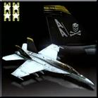 F/A-18F -Jolly Rogers-