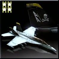 FA-18F -Jolly Rogers- Icon