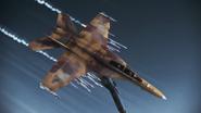 FA-18F Beast flyby 4