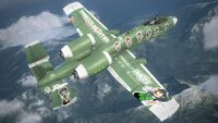 A-10A -THE IDOLMASTER SP- Flyby 1