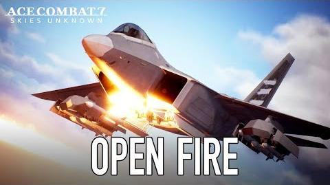 Ace Combat 7 Skies Unknown - PS4 XB1 PC - Open Fire (Launch Trailer)