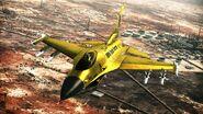 F-16c gold falcon