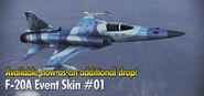 F-20A Event Skin 01 Drop Banner