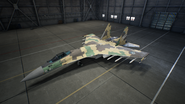 Su-35S AC7 Color 6 Hangar