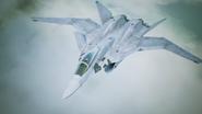 X-02S Strike Wyvern Flyby No Emblem 3