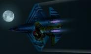 YF-23A Samus Aran Flyby 2