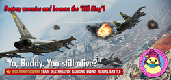Yo, Buddy. You still alive Ranking Tournament Banner