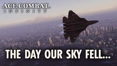 Ace Combat Infinity - PS3 - The day our sky fell...(Teaser trailer)