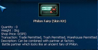 Phillon Fairy PET skin