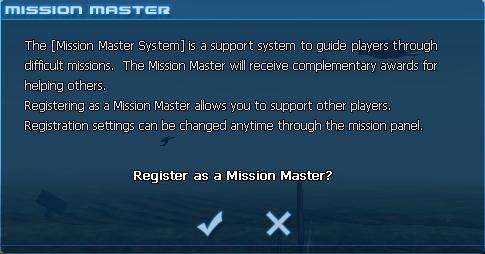 Mission master