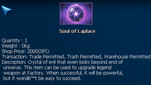 Soul of laplace