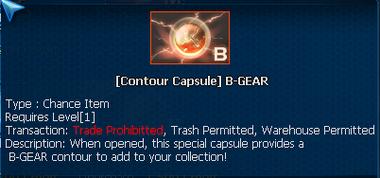 BG contour caps