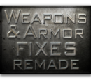 Weapon Fixes