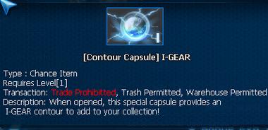 Ig contour caps