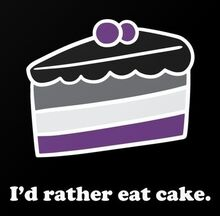 Cake is better than sex