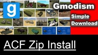 Garry's Mod ACF Install Armored Combat Framework ZIP Download