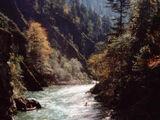 Verlauf der Ache in Tirol