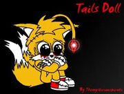 Tails doll defeated form