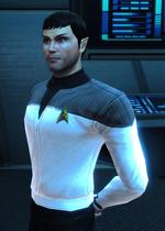 Sanek as Professor