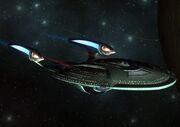 USS Union E Flyby