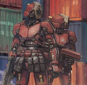 Container Guard Art