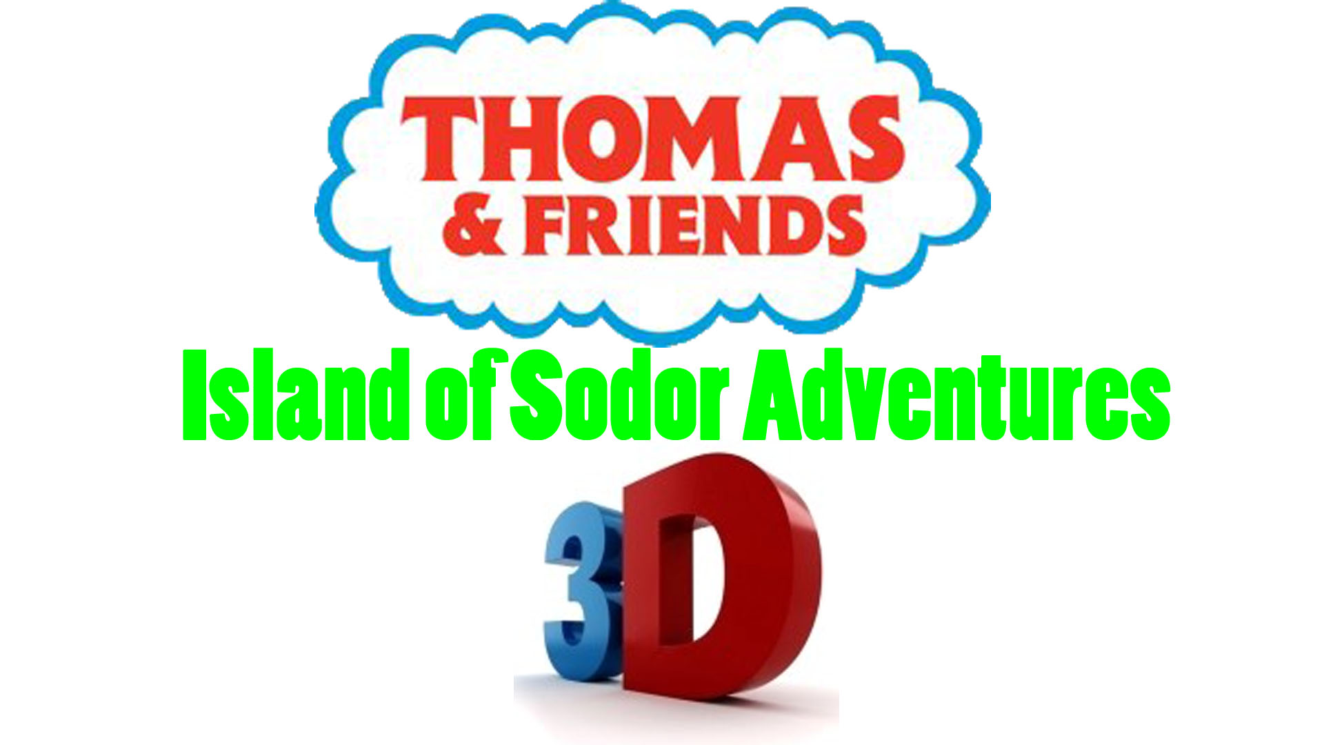 Thomas Friends Island Of Sodor Adventures 3D
