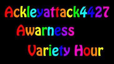 Ackleyattack4427 Awarness Variety Hour Logo