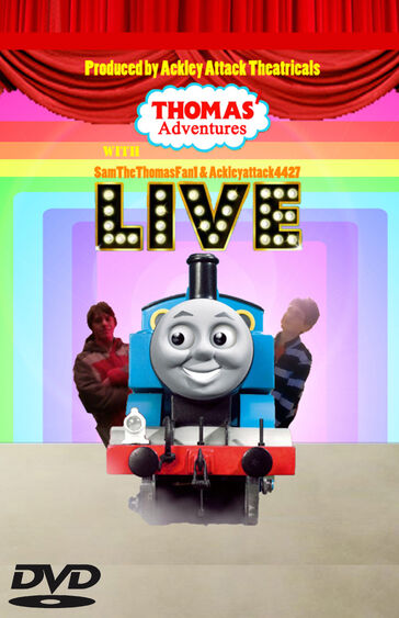 T'AWS&A LIVE DVD Cover