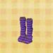 Purple-Stripe Tights